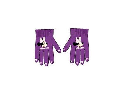 Rukavice stretchové fialové