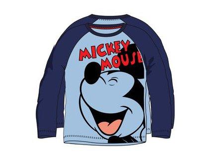 Tričko s Mickey Mouse světle modré