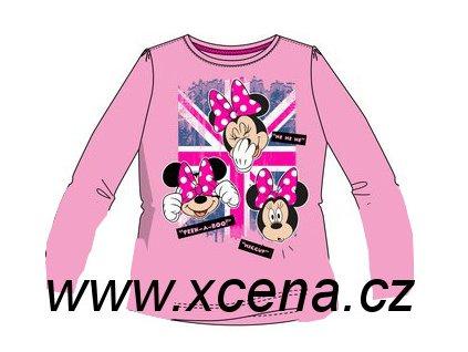 Tričko, triko s Minnie Mouse růžové