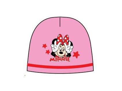 Čepice s Minnie Mouse růžová