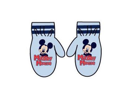 Mickey Mouse palčáky světle modré
