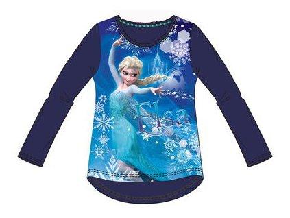 Frozen Anna Elsa trička modré