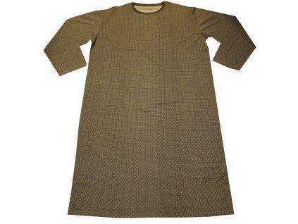 Noční košile bavlněná šedá