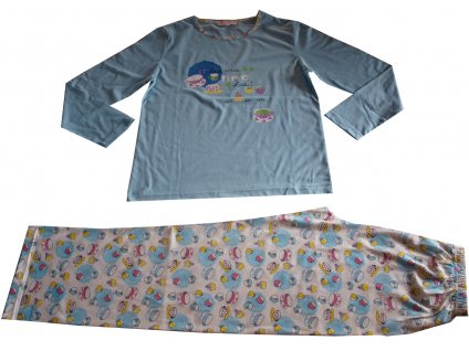 Dámské pyžamo Coandin modré