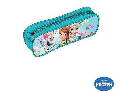 Frozen Anna a Elsa penál kulatý