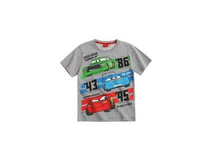 Cars tričko Disney šedé nový model