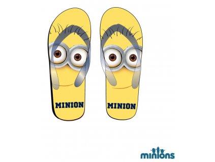 Mimoni Minions boty žabky dětské