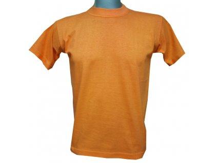 Dětské bavlněné tričko oranžové