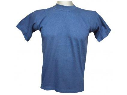 Dětské bavlněné tričko královsky modré