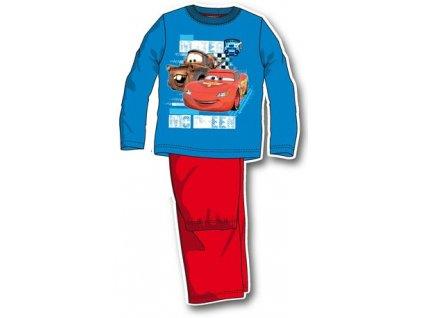 Cars pyžama tyrkysová