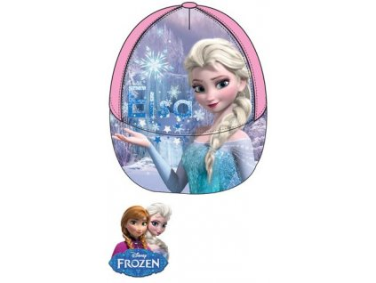 Frozen kšiltovka Anna a Elsa nový model