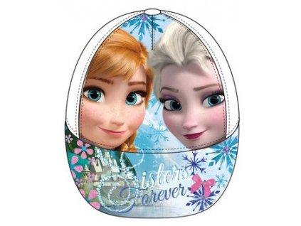Frozen kšiltovka Anna a Elsa bílá