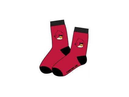 Angry Birds ponožky červené