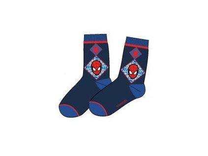 Spiderman ponožky modré barvy