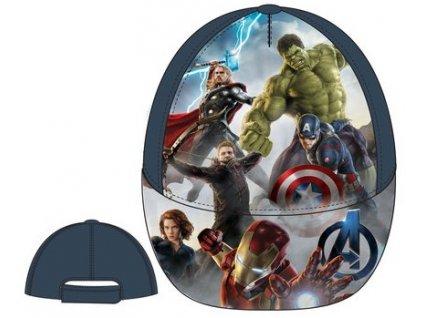 Avenger Capitan Amerika kšiltovka šedá