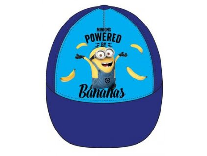 Minions čepice baseballová modrá