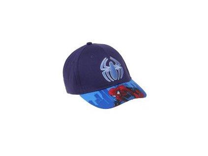 Spiderman baseballová čepice modrá