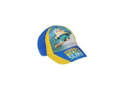 Minions baseballová čepice modrá