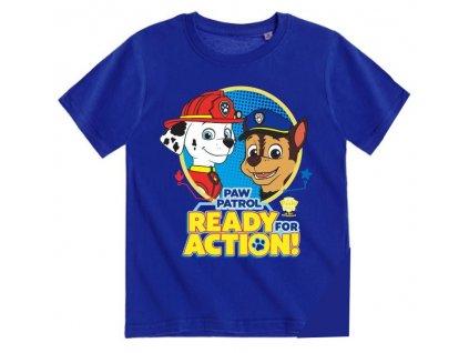 Psí patrola tričko modré