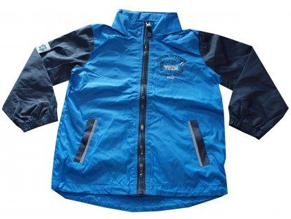 bunda dětská sportovní modrá