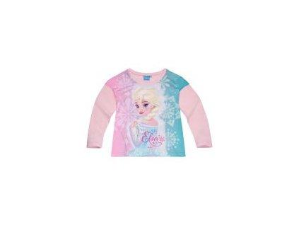 Frozen Elsa tričko růžové