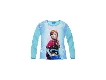 Frozen Anna tričko tyrkysové
