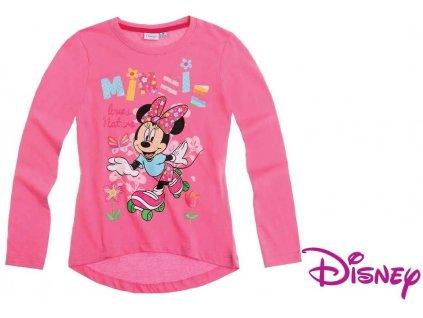 Minnie trička s dlouhým rukávávem