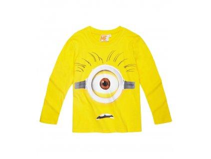 Minions trička s dlouhým rukávem žluté