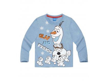 Olaf Frozen tričko dětské modré