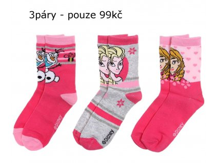 Frozen Enna a Elsa ponožky sada