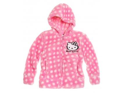 Hello Kitty Fleece mikina růžová