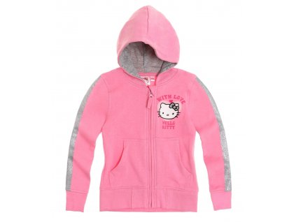 Hello Kitty mikina růžová vyteplená