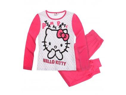 Hello Kitty pyžama balvlnéné bílé