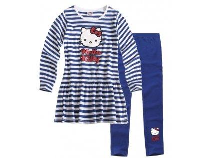 Hello Kitty tričko a legíny modré