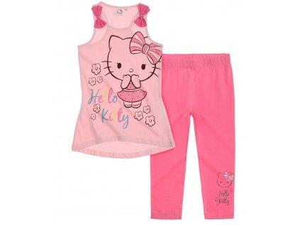 Hello Kitty trička a legíny růžové