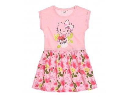 Šatičky Hello Kitty růžové