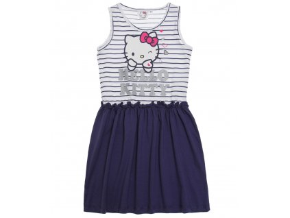 Hello Kitty šaty mordé