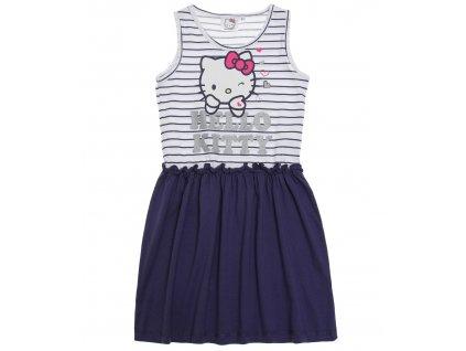 Hello Kitty šaty modré