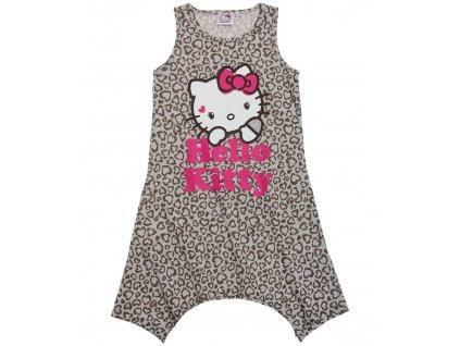 Hello Kitty šatičky bavlněné šedé