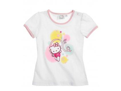 Kojenecké triko Hello Kitty bílé