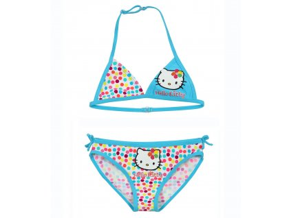 Hello Kitty plavky tyrkysové