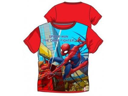 Spidermann tričko nová kolekce červené