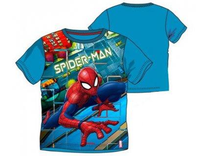 Spiderman tričko nová kolekce modré
