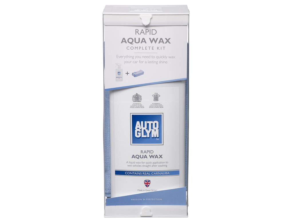 Rapid Aqua Wax Kit Face On