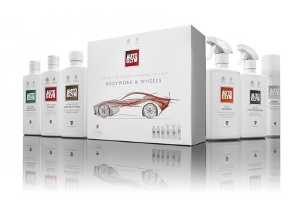 Bodywork & Wheels giftpack & contents V1
