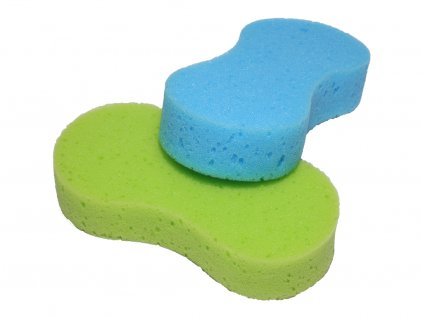Huba zelena a modra front