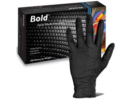 bold black nitrile one use gloves 500x500