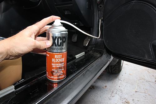 XCP Rust Blocker dutiny ochrání výrazně lépe než známé vosky!