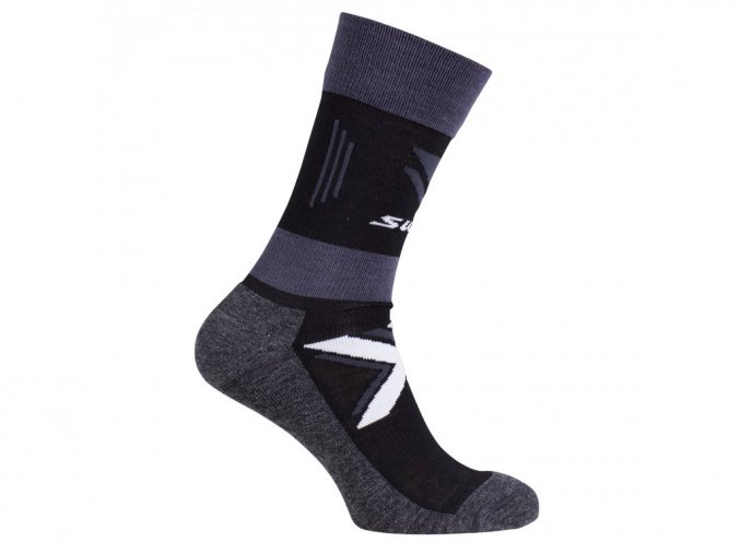 PONOŽKY SWIX CROSS COUNTRY WARM (black)