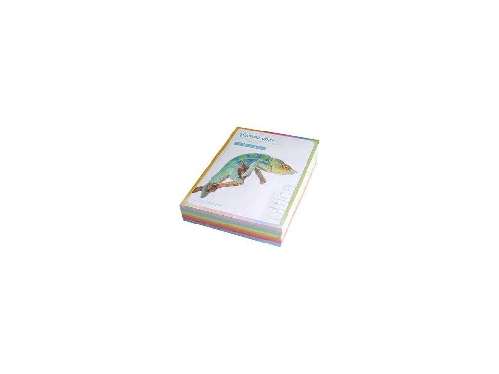 Barevný papír A4 80g 10 x 50l pastel. odstíny